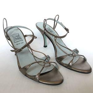 Cynthia Rowley Bronze Heels